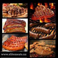 Meat choices at Elite Meats Hamilton