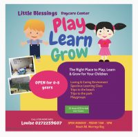 Little blessings day care